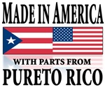 Made in America parts in Puerto rican part