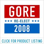 Re-elect Al Gore in 2008