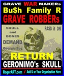 RETURN GERONIMO's SKULL