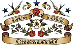 Live Love Chemistry. Be proud of your occupation, hobby, or obsession! Get this fun design on great t-shirts, stickers, & much more. They also make great gifts!