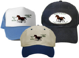 Hats with Gaited Horses