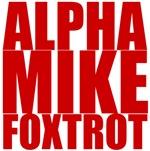 Alpha Mike Foxtrot