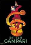 Bitter Campari, Vintage Poster