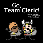 Durkon: Go Team Cleric!