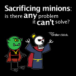Xykon: Sacrificing minions