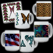 Cool Coffee Mugs & Tile Coasters