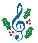 Treble Clef Holly