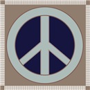 Peace sign graphic