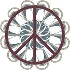 Peace Sign Geometric