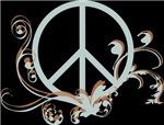 Swirly Peace Sign