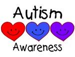 Autism Awareness (Hearts)