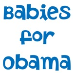 Babies for Obama (blue font)