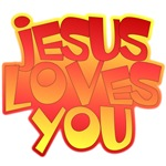 Jesus Loves You Christian T-shirts & Gifts