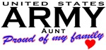 Proud United States Army Aunt