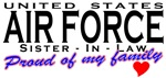 Proud United States Air Force Sister-in-Law