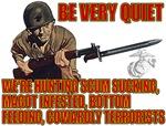 Marines Hunting Terrorists T-shirts & Gifts