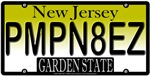 Pimpin Aint Easy New Jersey Vanity Plate Design
