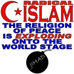 Radical Islam Religion of Peace T-shirts & Gifts