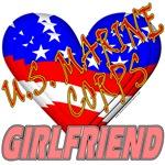 U.S. Marine Corps Girlfriend T-shirts & Gifts