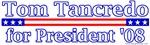 Tom Tancredo for President 2008 Design