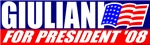 Rudy Giuliani for President 2008 T-shirts & Gifts