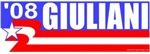 Giuliani 08 Stars & Stripes T-shirts & Gifts
