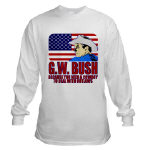Cowboy G.W. Bush T-shirts, Apparel & Clothing