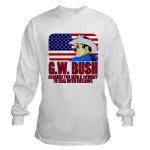 Cowboy G.W. Bush T-shirts, Apparel & Clothing