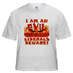 EVIL Conservative T-shirts and Apparel