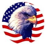 Embroidered American Eagle T-shirts & Hats