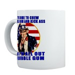 Angry Uncle Sam Mugs