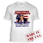 Uncle Sam Anti Terrorist T-shirts & Clothing