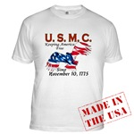 Marine Corps T-shirts, Apparel & Clothing
