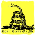 Don't Tread On Me Gadsden Style Design