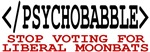 End Liberal Psychobabble T shirts Hats Mugs