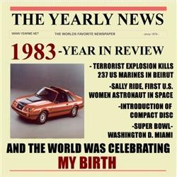 born in 1983 birthday gift