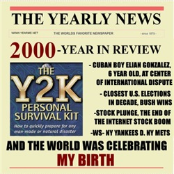 born in 2000 birthday gift