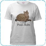 Love Pixie-Bob T-Shirts and Gifts