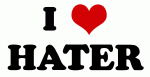 I Love HATER