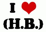 I Love {H.B.}