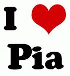 I Love Pia