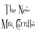 The New Mrs. Carrillo