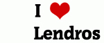 I Love       Lendros