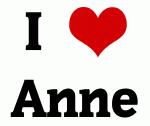 I Love Anne