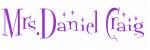 Mrs.Daniel Craig