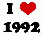 I Love 1992