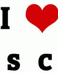 I Love s  c