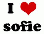 I Love sofie