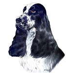 English Cocker Spaniel items with this design