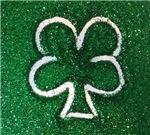 Clover Green Glitter